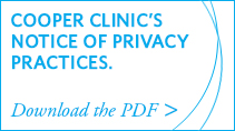 Cooper Clinic's Notice of Privacy Practices - Download the PDF