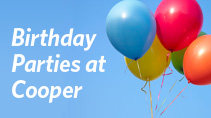 Kids Birthday Parties at Cooper Fitness Center at Craig Ranch