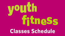 Youth Fitness Classes Schedule