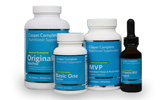 Omega-3/Vitamin-D bottles/pills