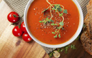 Hearty, Low Fat and Lycopene Loaded Tomato Basil Soup Recipe