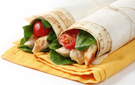 Garden Chicken Wrap