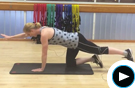 Strengthen Your Back Muscles with Simple Plank Moves Video
