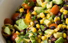 This Festive Black Bean and Corn Salad Recipe Is a Party Starter