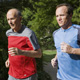 Drs. Kenneth and Tyler Cooper Jogging