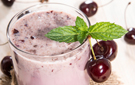 Tart and Sweet Cherry Banana and Almond Milk Smoothie Recipe