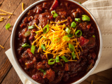 Touchdown Chili with Turkey and Red Kidney Beans
