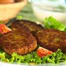 Fiber-Rich and Flavorful Black Bean and Jicama Slaw Burgers