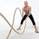 Strengthening Muscles with Battle Ropes and Free Weight Techniques