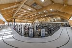 Weight Floor Gym Area and Indoor Track - Cooper Fitness Center Dallas